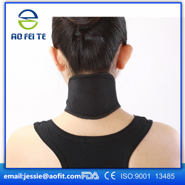 Chinese factory of Self-heating neck support brace for neck pain relief