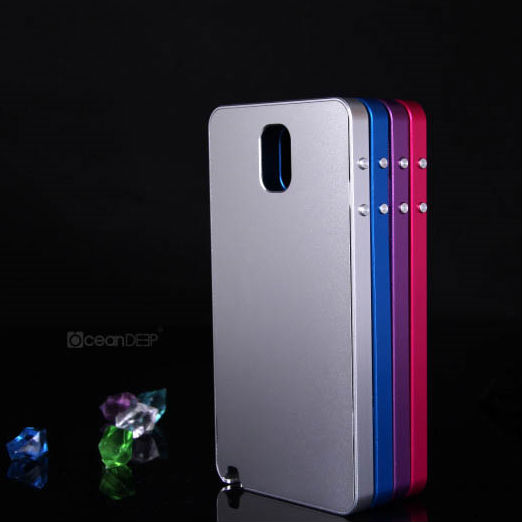 High quality aluminium phon cover for samsung galaxy note 3 all-metal phone case
