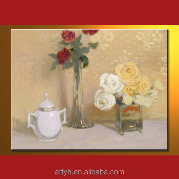 New arrival decorative flower oil painting picture