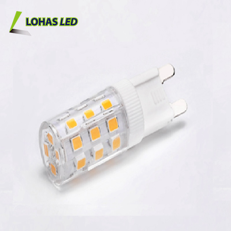 Hot selling 12v G9 mini LED Cron Light Bulb 110-240v 1w 1.5w 2.5w 3w 5w 6w SMD dimmable G9 LED Bulb