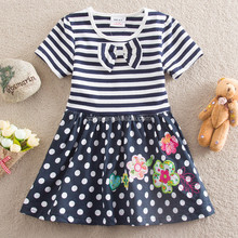 China supplier high fashion formal dress design for kids dress