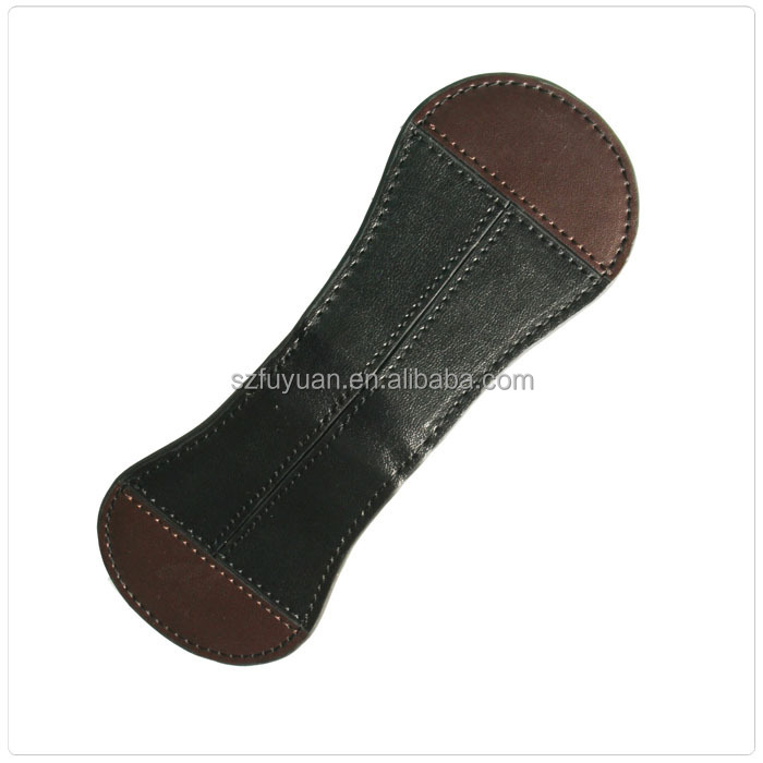 factory wholesale custom leather money clip wallet for men