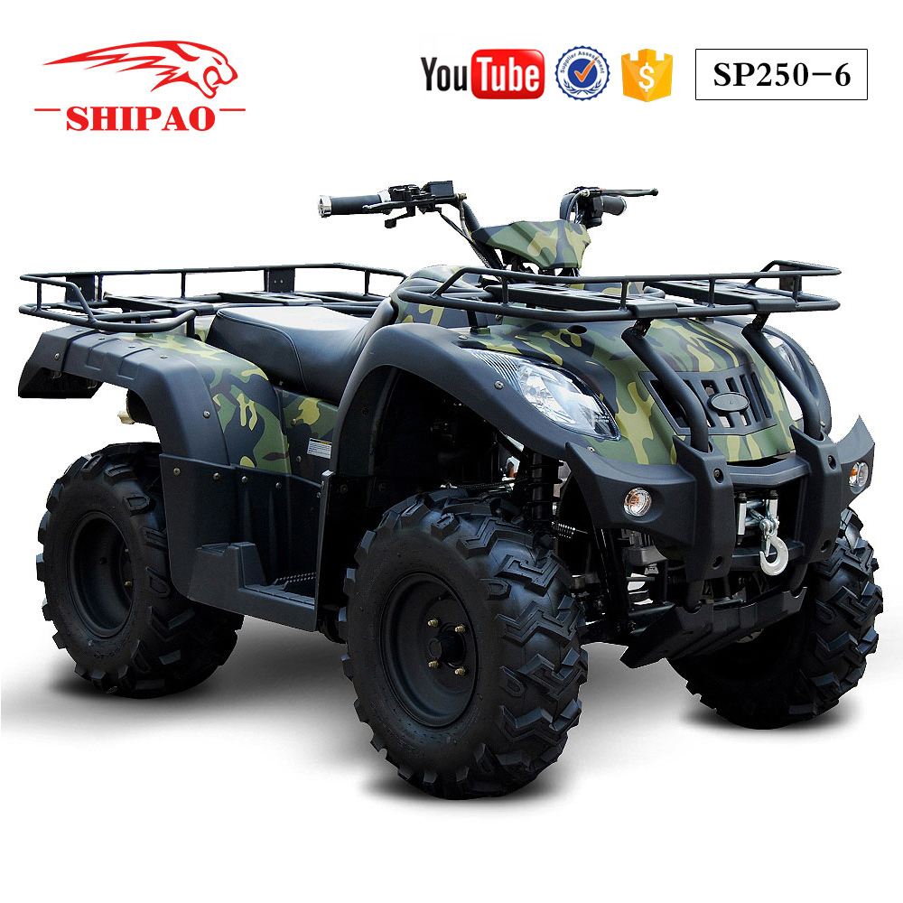 SP250-6 Shipao nice experience discount atv cheap quad bikes uk