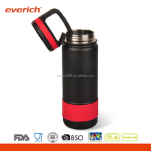 Everich Double Wall Stainless Steel Sports Carabiner Lid Water Bottle