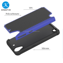 Wholesale Free Sample Shockproof Silicone Combo Case Mobile Phone Case For HTC Desire 530
