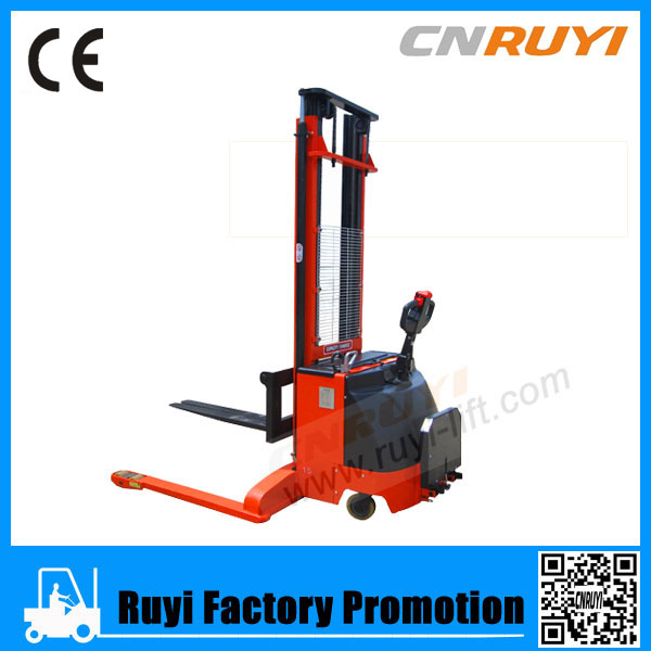 1.5ton full electric forklift/use battery stacker/hydraulic electric stacker
