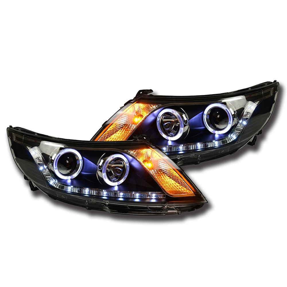 NightEye Car Styling for K2 Headlights 2011-2014 Rio LED Brand Name Car Accessories