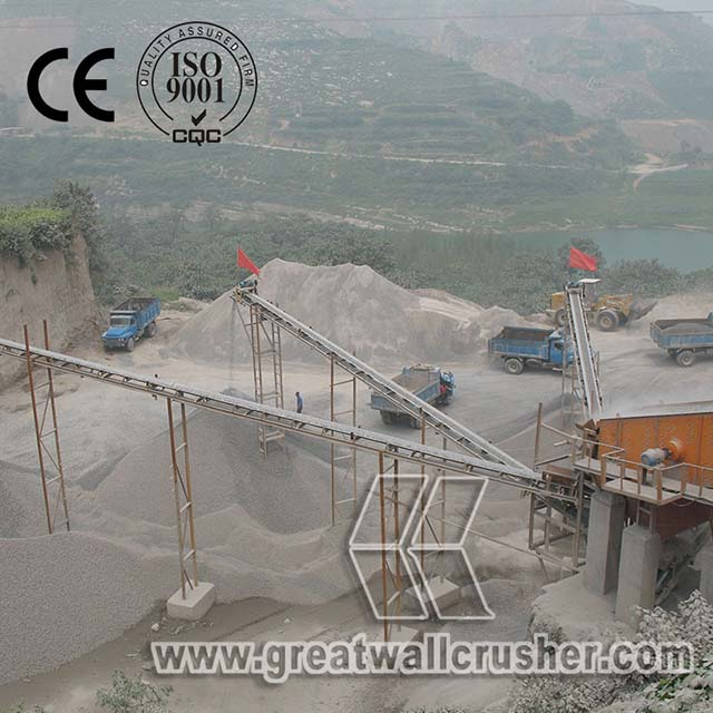 Gold Supplier stone crushing plant, Hard rocks stone production line Philippines