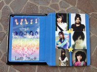 Hot Selling Customerized Leather Folder Case for iPad 3