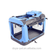Pet carrier outside bag with mesh foldable