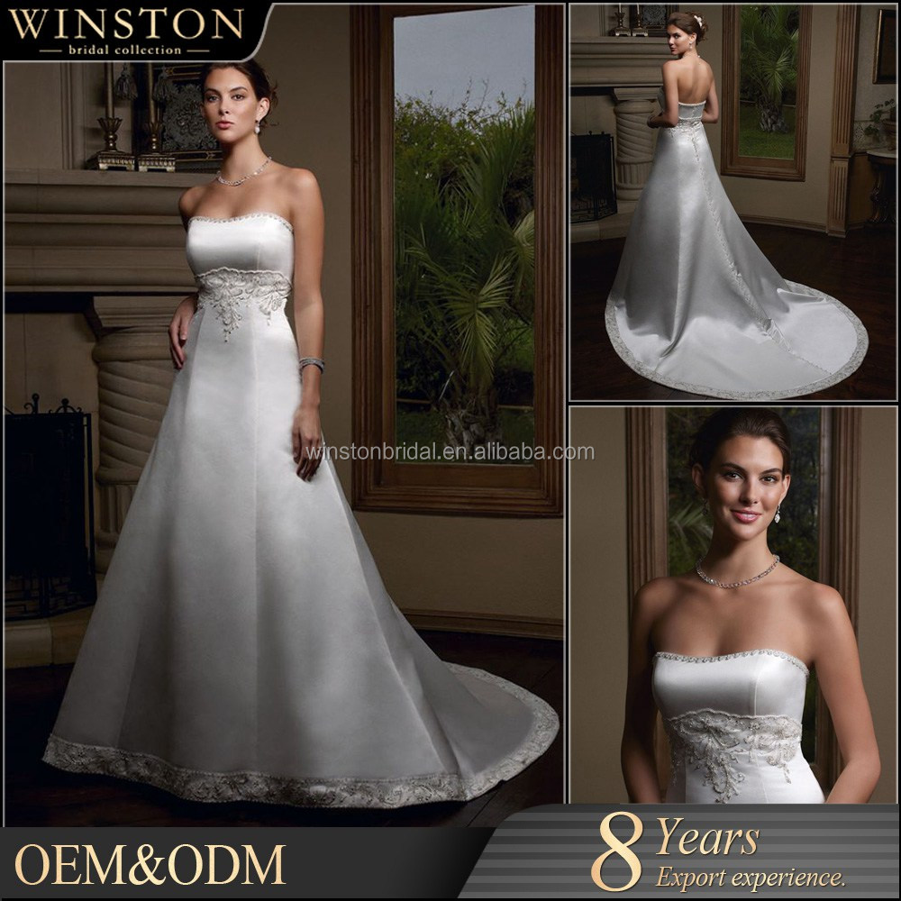 2015 New Design Custom Made princess wedding dress 2010