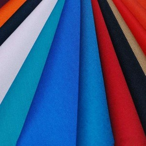 poly cotton material waterproof TC twill textile fabric 80/20