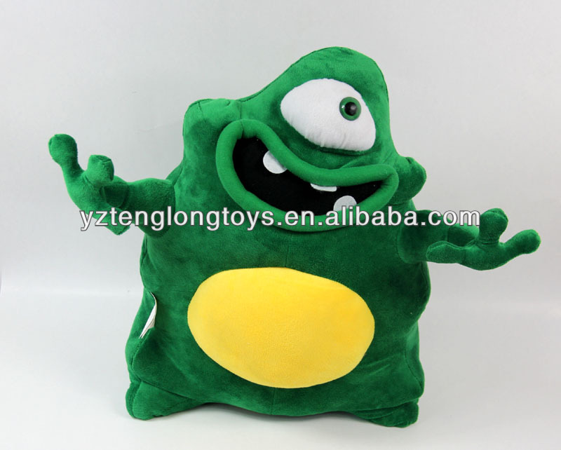 Fashion cute soft lively plush aliens toy