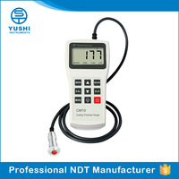 YUSHI Auto Electronic Paint Coating Thickness Gauge Exporter Working Temperature -10 ~+50 Celsius