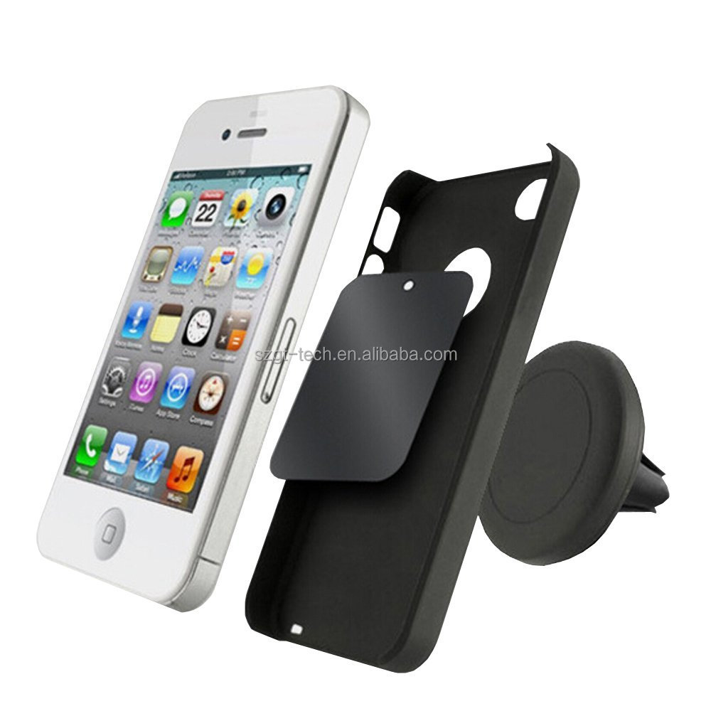 Phone Accessories Mobile Air Vent Phone Holder Magnetic Car Mount For iPhone 7 6 6s 5