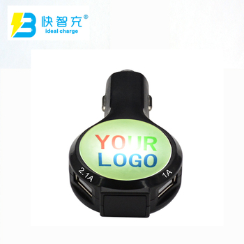 original factory usb adapter for car audio with voltage tester with led lighting logo
