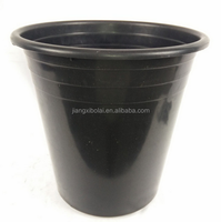 pp material 5 gallon black plastic gallon pot flower pot
