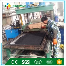 China professional high quality and cheap price rubber floor tiles making machine