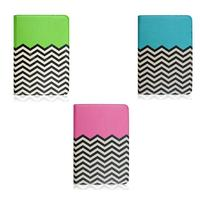 Wave Pattern Wholesale Cheap for iPad Mini Case with Stand Function, Leather Case for Apple ipad mini with Belt