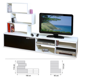 2016 TV cabinet latest design Made in China (VT-WT003)