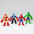 Custom make 3d collectible mini figures,custom 3d pvc robot figure collectible mini figure