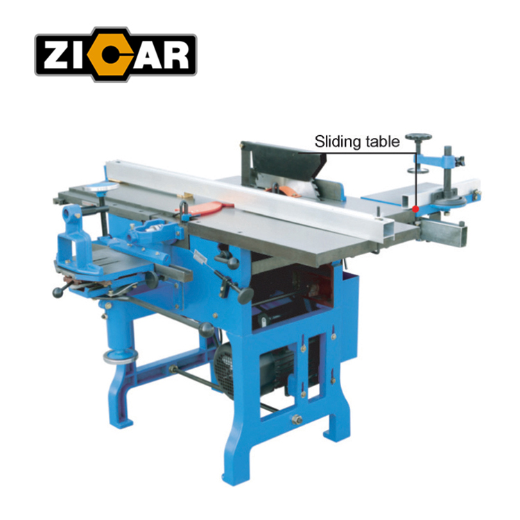 ZICAR MQ442A Woodworking Saw Planer Mortiser Combination Machine