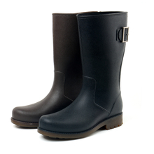 Hot selling style Half black wellington dress boots for men