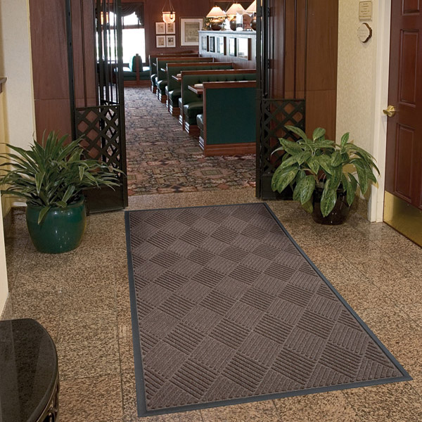 Polypropylene Rubber Backed Washable Non Slip Outdoor Rugs