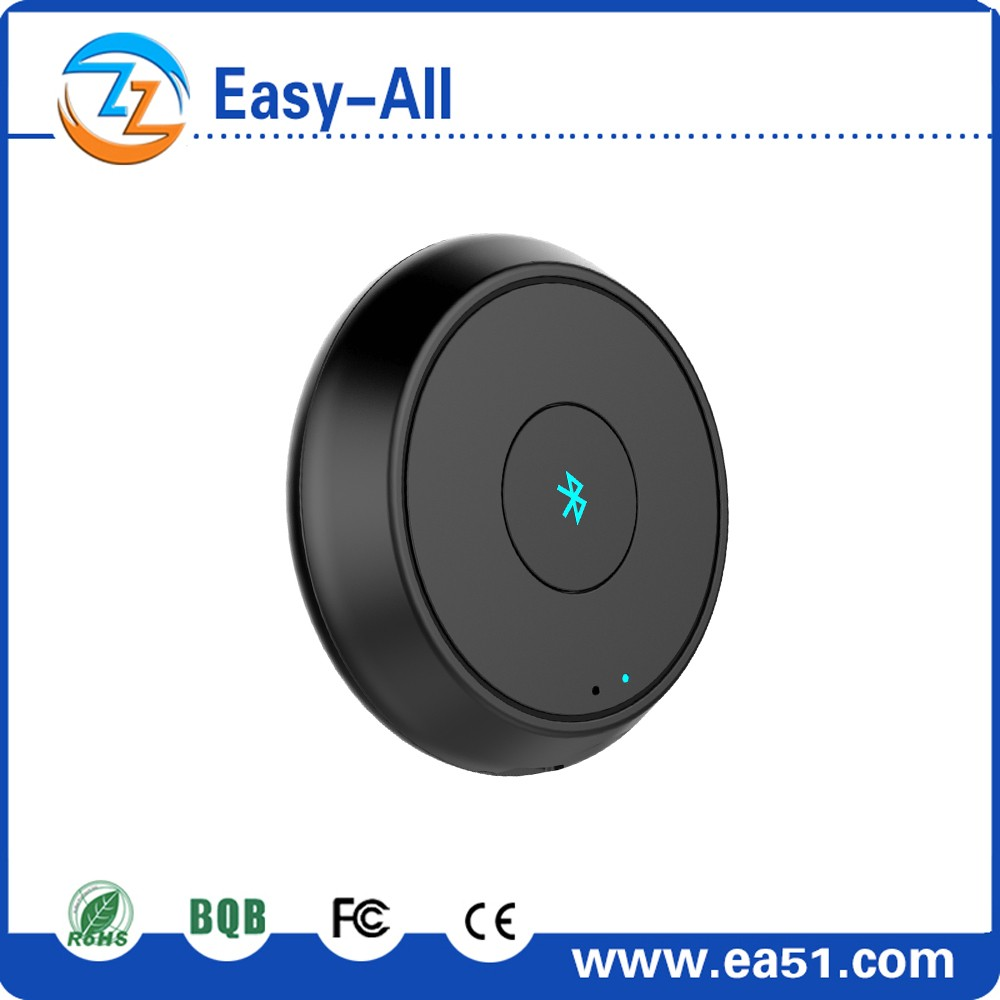 Bluetooth Music Receiver 3.5mm Adapter Handsfree Car AUX Speaker with Built in Mic for handsfree phone