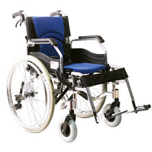 America style function of aluminum folding backrest wheelchair