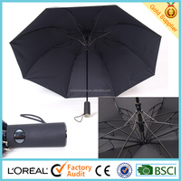 2 folding with 2 layer auto open umbrella and korea man umbrella