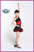 Dancing wear cotton soft comfort girls fancy dress costumes for kids