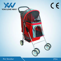 new products aluminum dog strollers pet trolley