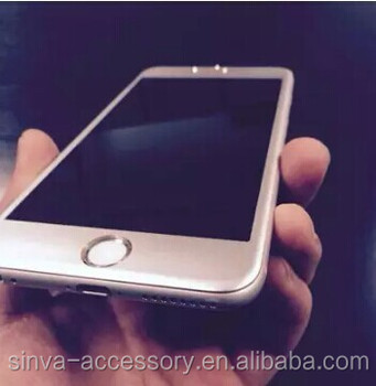 Sinva For iPhone 6 Full Cover 9H 0.33mm Titanium Alloy Tempered Glass Full Screen For iPhone 6