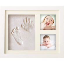 Wholesale new baby frames handprint and footprint kit set