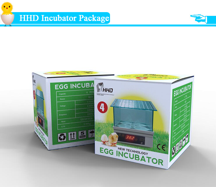 YZ9-4 New arrival 4 eggs capacity mini egg incubator with cheap price