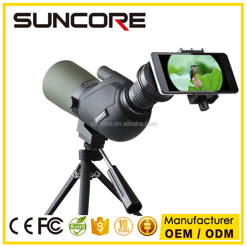Suncore MJ 12-36X50 Hunting Sportting Scope Birds Telescope Single-Tube Outdoor Telescope