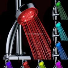 LED 7color+RGB Colorful Changing shower head Automatic flush mount creative shower light
