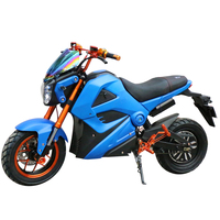 Battery Powered Fast New Style Electric Motorcycle