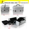 good quality aluminum tool cases with trays for tools storage