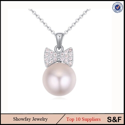 Factory Price Pearl Necklace ,Real Pearl Necklace Price Fashion Austria Artificial Pearl Jewelry