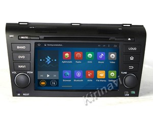 Kirinavi WC-MZ7003 Android 5.1 car steering wheel audio control for mazda 3 2004-2009 navigation dvd 3g wifi bt mp3/mp4 player
