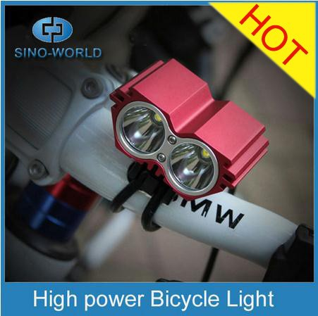 T6 2000lm Super Bright LED Rechargeable bike light 2016 NEW bicycle head light