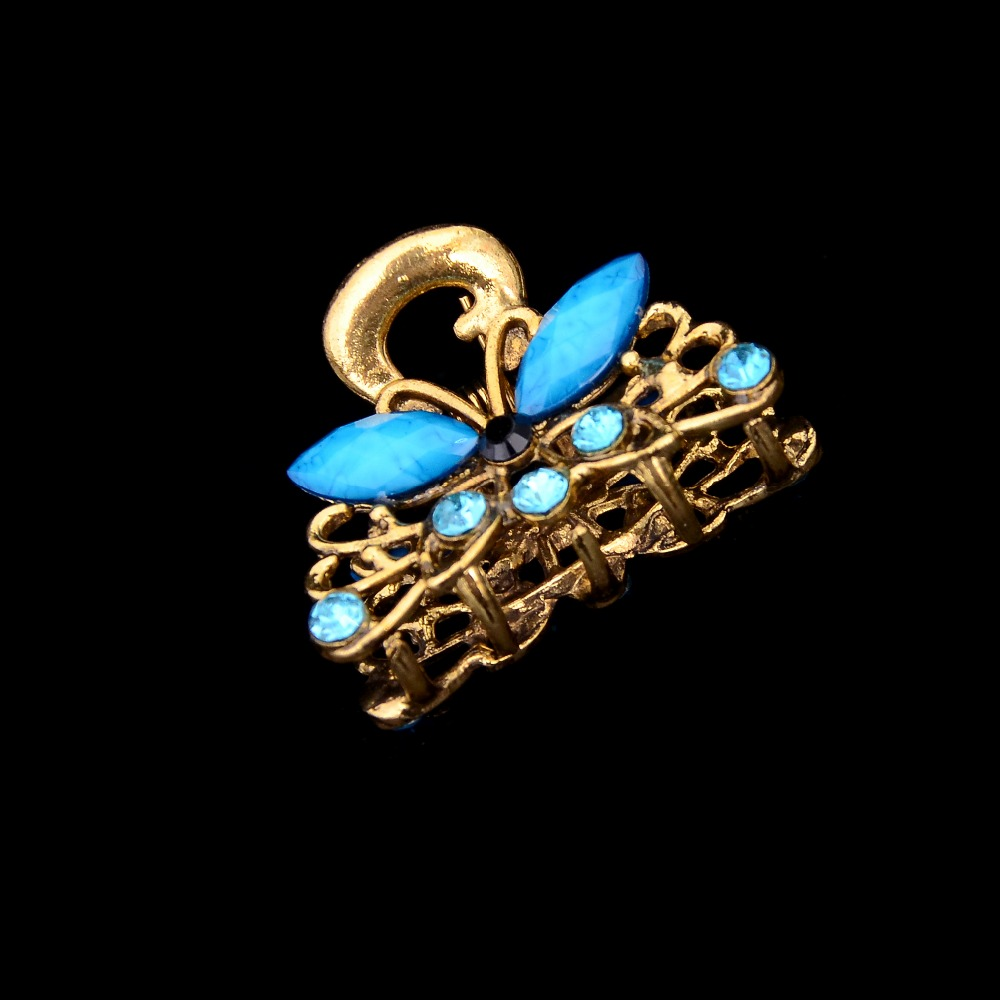 Luxury resin butterfly jaw hair clips wholesale vintage animal hair claws hair accessories for women jewelry Wholesale