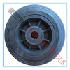 6x1.5 solid rubber powder wheel with roller bearing
