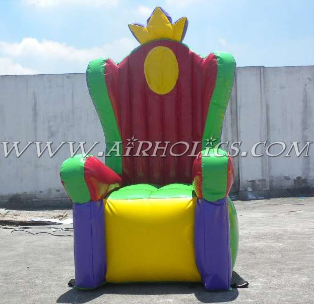 Hot Sale Birthday Party Throne Inflatable Chair