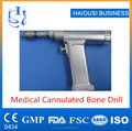1 Piece Medical Cannulated Bone Drill , Orthopedic Electric Bone Drill Tool
