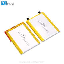 YJ805068 3000mah battery 3.7v 2parallel 6000mAh 2s 7.4v rechargeable li-ion polymer cell pack