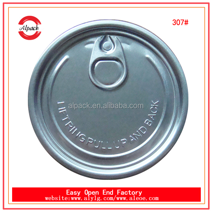 Plastic lid for pop canned food direct from China supplier