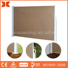 New Style Wind retractable awning side screen blind